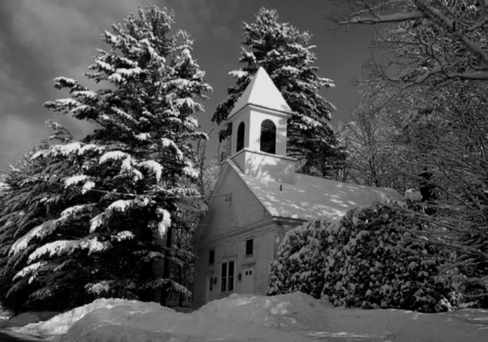 Snowy Church 2